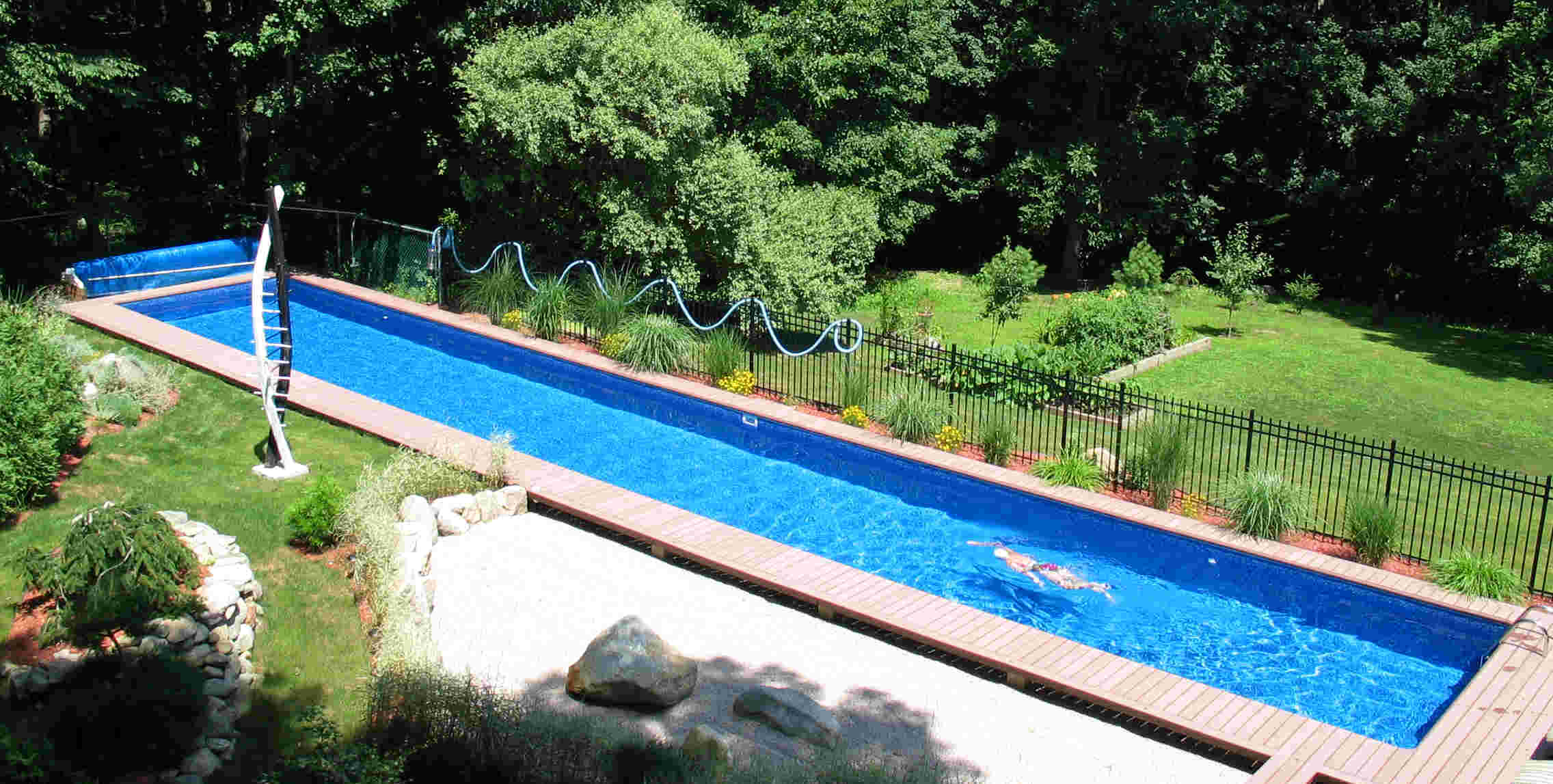 If your home is deluxe and traditional, then a classic rectangle is one of  the best options as the pool's straight lines will not overpower the  property's ...