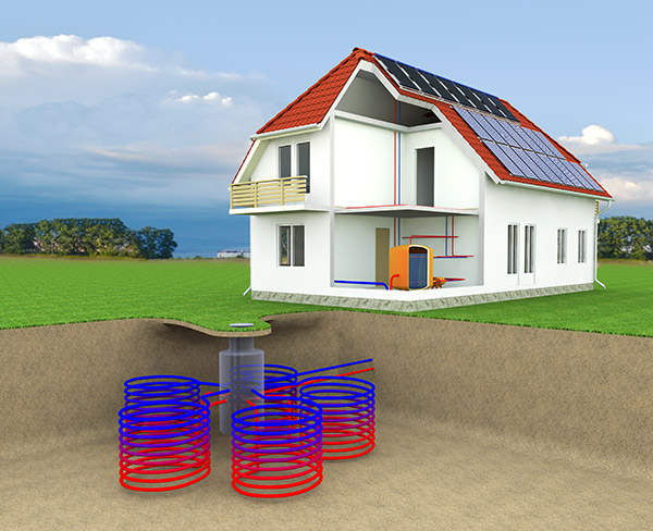 geothermal heating Geothermal heating and cooling is the most economical, clean, non-polluting, proven heating and cooling technology available today it will save you up to 70% of the cost of heating and cooling compared to a conventional system.